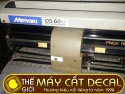 Máy cắt decal cũ Mimaki CG-60ST còn 85%