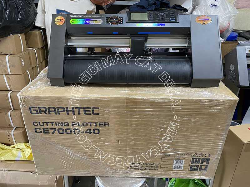 Máy cắt bế decal tem nhãn Graphtec CE7000-40 cho in nhanh