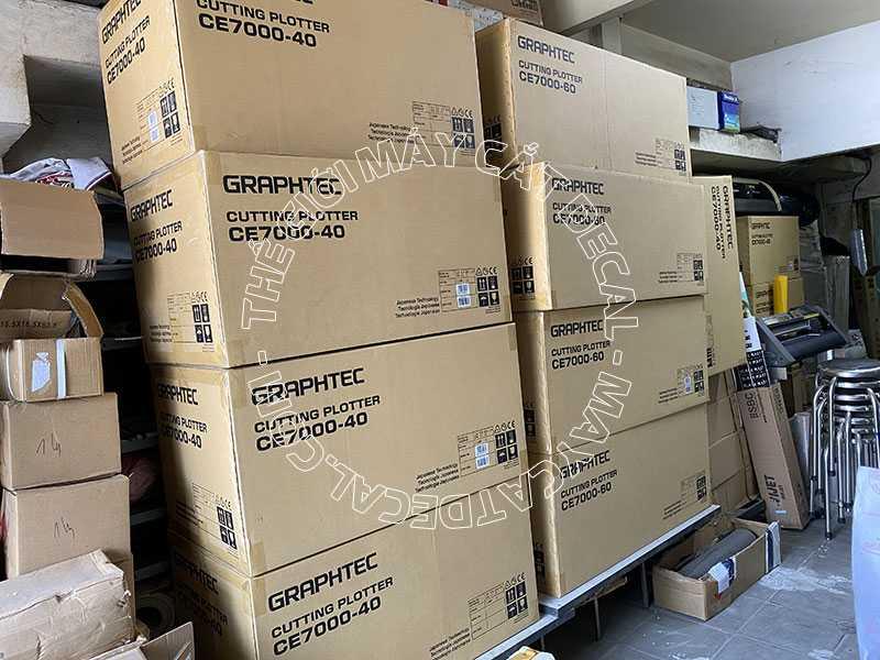 Một lô máy cắt bế tem nhãn Graphtec CE7000-40 tại Thế Giới Máy Cắt Decal