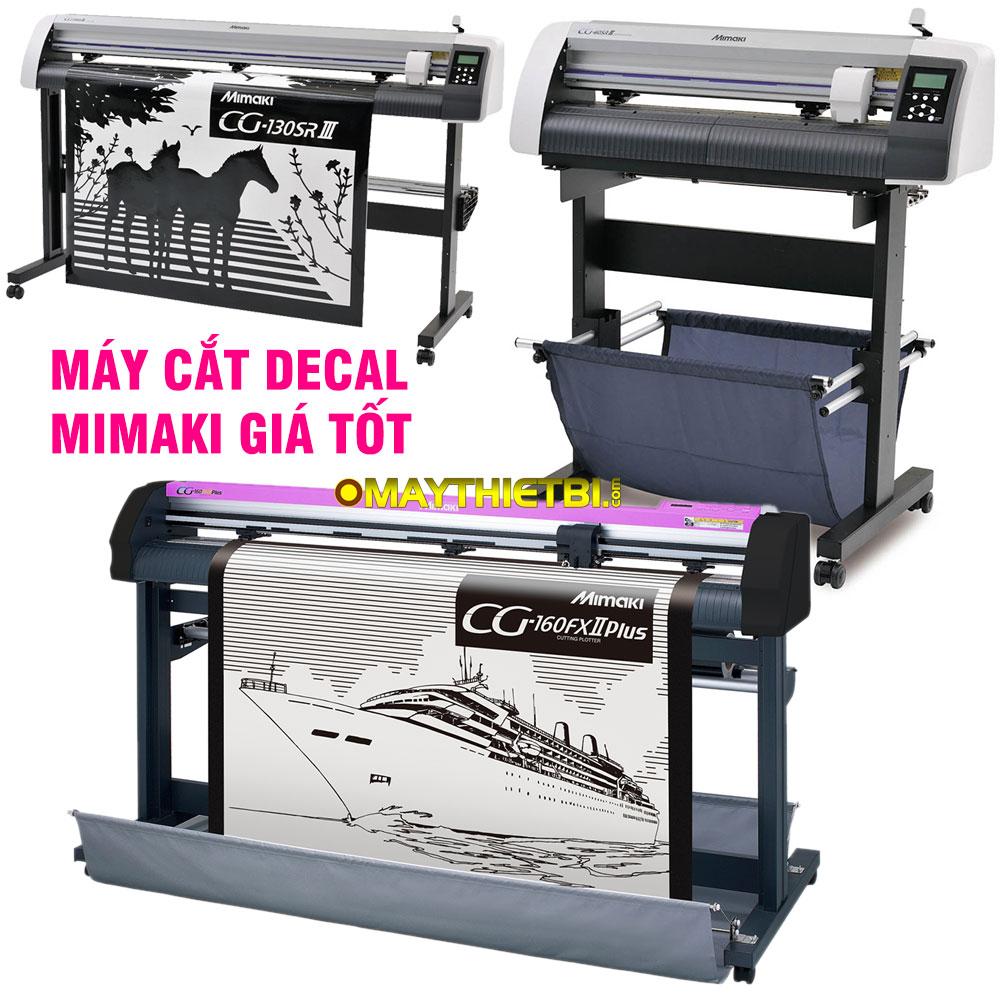 Máy cắt đề can Mimaki giá tốt