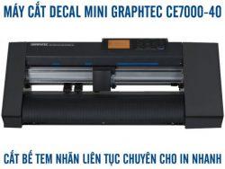 Máy cắt decal mini A3 A4 bế tem nhãn tự động