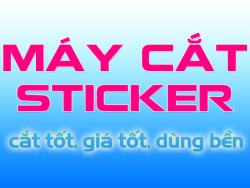 Máy cắt sticker nào tốt mà giá rẻ?